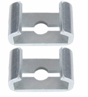 This is an image of a 1967-81 Camaro & Firebird Rear Park Brake Cable Connectors