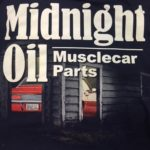 This is an image of a Midnight Oil Camaro Parts Shirt