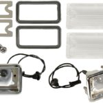 This is an image of a 1967 or 1968 1967-68 Camaro RS Back Up Light Kit.