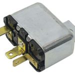 This is an image of a 1969 Camaro & 1970-72 Chevelle, El Camino Cowl Induction Firewall Relay, GM Licensed