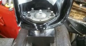 This is an image of a 1967-69 Camaro Upper Ball Joint Rivet Installation And Removal Tool