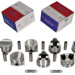 This is a correct replacement 1967-69 Camaro 302 Piston Set suitable for high horsepower applications.