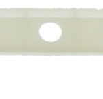 This is an image of a 1967-68 Camaro Or Firebird Center Dash Panel Retainer