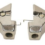 This is an image of a pair of 1967-69 Camaro Or Firebird Convertible Latch Knuckle, Pin & Spring, Pair