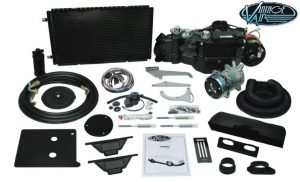 This is an image of a Camaro Or Firebird Vintage Air Gen IV SureFit A/C System