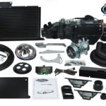 This is an image of a 1970-81 Camaro Vintage Air Gen IV SureFit A/C System