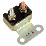 This is an image of a 1967-69 Camaro & Firebird 30 Amp Circuit Breaker, Correct Reproduction