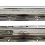 1967 Camaro Z28 & SS350 Small Block Chevrolet Script Chrome Valve Covers