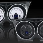 This is an image of a 1967-68 Camaro Or Firebird Dakota Digital HDX Dash Gauge Cluster