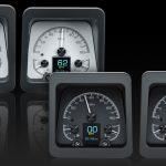 This is an image of a set of 1969 Camaro Dakota Digital HDX Instruments