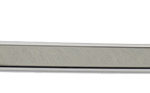 This is an image of a 1967-69 Camaro Or Firebird Coupe Back Glass Molding, Left Lower, GM Licensed