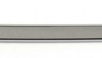 This is an image of a 1967-69 Camaro Or Firebird Coupe Back Glass Molding, Right Lower, GM Licensed