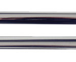 This is an image of a 1967-69 Camaro Or Firebird Roof Drip Rail Molding, Vertical, Pair