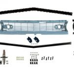 This is an image of a 1968 Camaro Standard Or Z28 Front Grille Kit, Complete