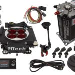 This is an image of a FiTech Go EFI 4 Power Adder System Master Kit w/ Fuel Command Center