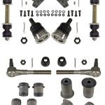 This is an image of a 1967-68 Firebird Front Suspension Basic Overhaul Kit, GM Licensed