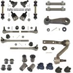 This is an image of a 1967 Camaro Front Suspension Major Overhaul Kit, Power Steering, Fast Ratio