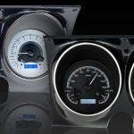 This is an image of a 1967-68 Camaro or Firebird Dakota Digital VHX gauge cluster