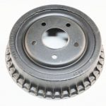 This is an image of a 1975-81 Camaro Or Firebird Rear Brake Drum, Finned