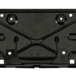 This is an image of a 1970-77 Camaro Rear License Plate Bracket, Correct Reproduction
