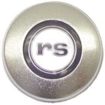 This is an image of a 1968 Camaro RS Satin Steering Wheel Horn Cap, GM Licensed