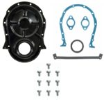 "This is an image of a 1967-68 Big Block Chevy Timing Chain Cover Kit For 8"" Balancer, Correct Reproduction"