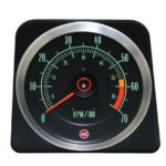 This is an image of a 1969 Camaro Z28 (Early) & SS 396/375hp 7000 RPM Tachometer, GM Licensed