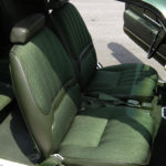This is an image of 1970 Camaro Deluxe Front Bucket & Rear Seat Covers