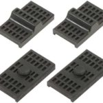 This is an image of a 1970-81 Camaro Or Firebird Rear Leaf Spring Insulator Pad Set