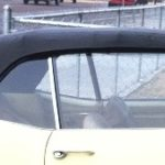 This is an image of a 1967-69 Camaro Or Firebird Convertible Top With Plastic Window, OE Vinyl