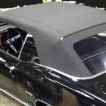 This is an image of a 1967-69 Camaro Or Firebird Convertible Top With Plastic Window, Cloth