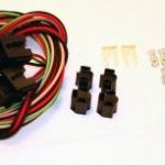 This is an image of a Headlight Enhancement Wiring Harness & Relay Set, Standard