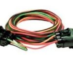 This is an image of a Headlight Switch Bypass Wiring Harness & Relay Set, Weatherproof