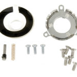This is an image of a 1969-81 Camaro Wood & Comfort Grip Steering Wheel Mount Kit, With Tilt