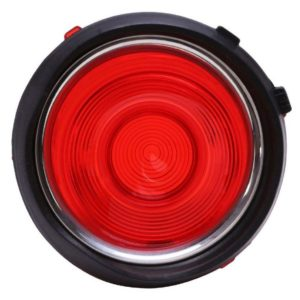 Thisi is an image of a 1970-73 Camaro Taillight Lens Right, Standard, GM Licensed