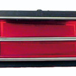 This is an image of a 1969 Camaro Taillight Lens Right, Rallysport, GM Licensed