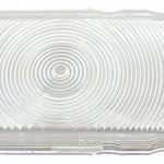 This is an image of a 1967 Camaro Back Up Light Lens, Standard, GM Licensed