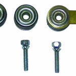 This is an image of a 1967-81 Camaro Wiper Motor Mount Grommets & Screws