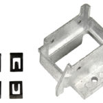 This is an image of a 1967-68 Camaro Or Firebird Power Convertible Top Switch Housing Bracket