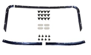This is an image of a 1967-69 Camaro Or Firebird Headliner Front & Rear Mount Strip Kit