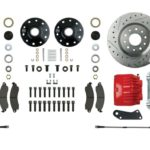 This is an image of a 1967-69 Camaro or Firebird Front Big Disc Brake Conversion Kit