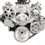 Eddie Motorsports S-Drive Serpentine Pulley Kit SB Chevy, W/Billet Aluminum PS Reservoir