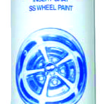 This is an image of a Super Sport Wheel Dark Gray Spray Paint, 12 Ounce Can