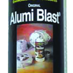 This is an image of Alumi-Blast Aluminum Restoration Spray Paint, 12 Ounce Can