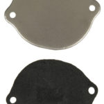 This is an image of a 1967-81 Camaro Or Firebird Clutch Firewall Hole Cover With Seal