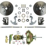 """This is an image of a 1967-69 Camaro Or Firebird Front Disc Brake Conversion Kit For 14"""" Wheels"""