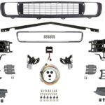 This is an image of a 1969 Camaro RallySport Front Grille Conversion Kit, Electric