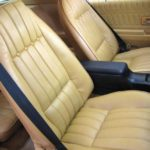 This is an image of a set of 1974-76 Camaro Standard Front Bucket & Rear Seat Covers
