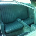 This is an image of a set of 1977-78 Camaro Standard Vinyl Rear Seat Covers