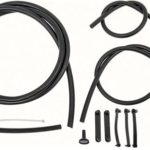 This is an image of a 1967-69 Camaro Or Firebird Windshield Washer Hose Set, Correct